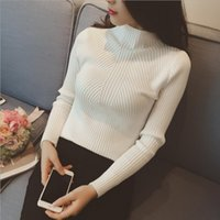 Sweater Women 2019 for Autumen And Winter Hight Elastic Pull...