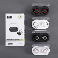 Newest DT- 2 TWS DT2 Sports Invisible Wireless Earphones Blue...