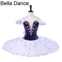 Palco desgaste lilás lilás fada clássico balé tutu meninas profissionais desempenho adultos bt9279