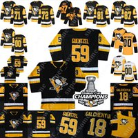Pittsburgh Penguins Jersey Bryan Rust Nick Bjugstad Justin Schultz Brian Dumoulin Teddy Blueber Jack Johnson Zach Trotman Dominik Kahun