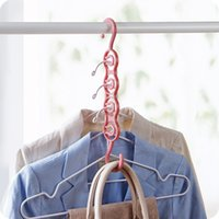 Circle Clothes Hanger Clothes Drying Rack Plastic Scarf Hang...
