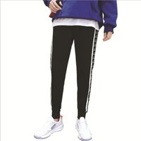 New Fashion Mens Pants Spring Autumn High Street Sports Pant...
