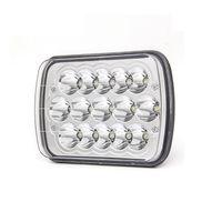 7x6 Dikdörtgen LED Farlar 45W Hi / Jeep Wrangler YJ Cherokee XJ Kamyon 4X4 Offroad Far Değiştirme için / DRL w Lo Işın