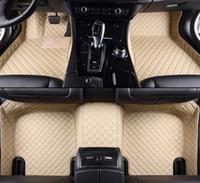 عرف الحصير سيارة لتسلا جميع النماذج نموذج S نموذج X اكسسوارات السيارات التصميم السيارات وسادات يغطي القدم القدم