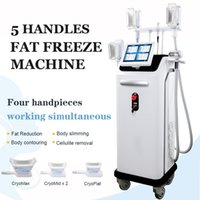 2021 High End Cryolipolyse Machine Cryo Fat Freeze Salon Spa Gebrauch 4 Griffe Cryolipolyse Körperkonturierung Gewichtsverlust Abnehmen Maschine