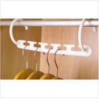 3D вешалка Магия одежда Стойка шкаф Органайзер с крюком для дома и гостиниц