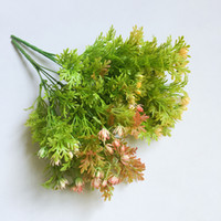 Artificial flowers 32cm rose bud grass fake plants wedding d...