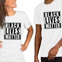 20 couleurs Homme T-shirts NOIR MATTER lettres d'impression VIES en vrac Homme Femme T-shirt manches courtes en coton vêtements décontractés