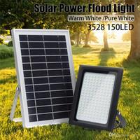 LED-Strahler 150 Leds 3528 Solar-Flut-Licht-Sensor im Freien Garten-Weg-Straße Spotlight Sicherheitslampe Wasserdicht