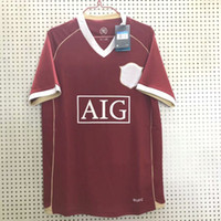 Retro classic 2006 2007 soccer jerseys Manchester GIGGS RONA...