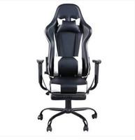 2019 Оптовые Горячие продажи Бесплатная доставка Высокий Задний Вращающееся Кресло Racing Gaming Chair Офисный Стул с Подножкой
