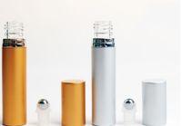 8ml anodizado rolo de alumínio de alumínio frasco de vidro forro de óleo essencial bola de frasco de esferas de esferas