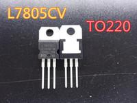 10pcs / lot-Triode-Transistor L7805CV TO220 L7805 7805 Stabilivolt Spannungsregler-Röhrchen