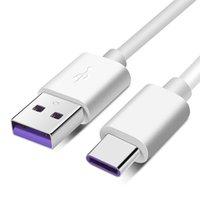 5A 1M 2M شاحن سريع بيانات من النوع ج كابل USB 3.1 كابلات البيانات USB كابل شحن خط سوبر تشارج لهواوي P20 P30 mate20