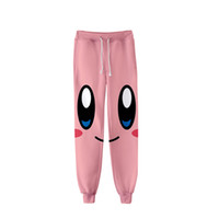Autumn trend ladies jogging sweatpants 3D printing kirby wom...