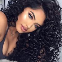 Pacotes de cabelo humano de ondas profundas Viya com 13 * 4 Lace Frontal Parte Livre Remy Cabelo Natural Cor Natural pode ser colorido