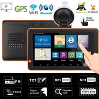 Navigazione da 9 pollici GPS 512M WIFI Bluetooth FM AV del veicolo del navigatore dell'automobile del navigatore di GPS dell'automobile dell'automobile di 9 pollici in MP4 con le mappe 8G
