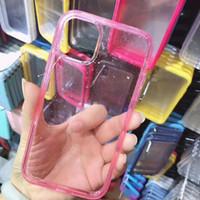 TPU Clear цвет материала защита мобильного телефона чехол для Galaxy Примечание 20 S20 S20 + двойной прозрачной модно и просто анти сбрасывания