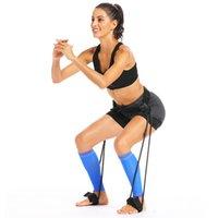 New Body Группа Упражнение Веревка Пояс для Перейти Обучение тренировки ног Теннис Фитнес Баскетбол Отскок тренер Мужчины Женщины