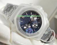 Heiße verkaufende beste Qualität JF-Hersteller 41mm Offshore 26331 Grande Tapisserie Chronograph Schweizer ETA 7750 Automatik Herren-Uhr-Uhren