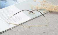 خفيفة للغاية B- التيتانيوم الحاجب نصف حافة النظارات الإطار 54-18-145Memory no-scew الإطار للنظارات الطبية حالة مجموعة كاملة