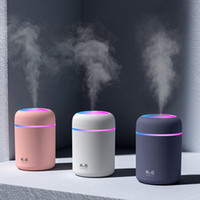Portable 300ml Humidifier USB Ultrasonic Dazzle Cup Aroma Di...