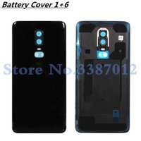Original 3D Glass For Oneplus 6 six Battery Door Case Back C...