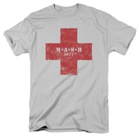 Mash Red Cross Logo Licence Adulte T-shirt