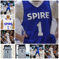 e94b8a7ecdca New Arrival. Custom Spire Institute Lamelo Ball  1 Chino Hill Basketball ...