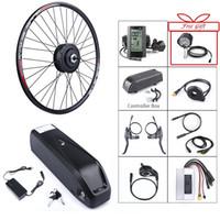 Bafang 48V 500W vélo électrique de vitesse brushless Hub Kit de conversion de roue arrière moteur 48V 12Ah e Batterie vélo intégré portable Samsung
