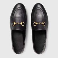 İlkbahar Yaz Kadın Klasik Marka Yuvarlak Ayak Düz Loafer'lar İngiltere Stil Horsebit Tek Ayakkabı Kadın Açık Deri Moccasins ...