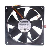 Emacro를 들어 FOXCONN PV902512L DC 12V 0.16A 냉각 팬 90x90x25mm 서버를 3 입고 들어