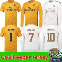 2019 2020 Real Madrid Soccer Jerseys Long sleeves Goalkeeper...