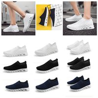 hot sale for men women fashion running shoes comfortable breathable triple black white blue trainers sport designer sneakers 39-45