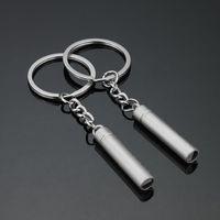 المعادن زوجين صافرة كيرينغ المفاتيح في الرياضة التخييم أدوات الصيد بقاء السلامة حقيبة السيارة مفتاح سلسلة الاكسسوارات هدية DH1216