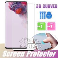 الهاتف 3D منحني غطاء كامل الزجاج المقسى حامي الشاشة لسامسونج غالاكسي S20 فائق s20plus S10E S10 زائد 5G S9 S8 ملاحظة 10 9 8 S7 الحافة