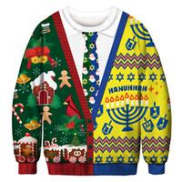 Herbst Weihnachten Sweatshirt Männer Frauen Herbst Langarm 3D Hoodies Sweatshirts Pullover Jumper Lose Tops M-2XL