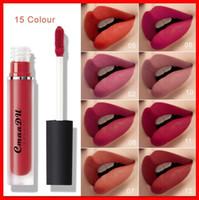 2019 CMAADU Schönheit Lipgloss 15 Farben Matte Nackte Lip Gloss Wasserdichte langanhaltende flüssige Lippenstift Lippen Make-up