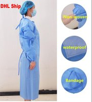 DHL One Piece Disposable Protection Suit Coverall waterproof...