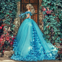 2019 Masquerade Ball Gown Quinceanera Dresses with Handmade ...