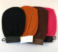 guantes de baño de fregado Marruecos guantes exfoliantes hammam scrub magia mitt peladura guante exfoliante mitt eliminación tan (sensación gruesa normales)
