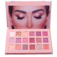 18 Colors Nude Glitter Professional Eyeshadow Matte Shimmer ...