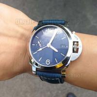 alta qualità PAM00688 Orologi GMT classici con movimento automatico 44 millimetri 316 Cassa in cinturino in pelle