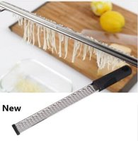 Ralador de Queijo ferramentas de aço inoxidável Lemon Zester fruta Peeler dispositivos da cozinha Grater Zester Utensílios Ferramentas KKA6454