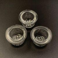 스푼 파이프 드라이 허브 담배 흡연 액세서리 실리콘 파이프 벌집 유리 메쉬 접시 그릇에 대한 교체 유리 화면 그릇 조각