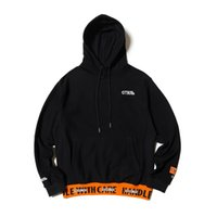 Heron Preston Sweatshirt and Jogger Set for Men Black Orange...