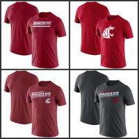 Estado de Washington pumas de la línea lateral de Leyenda Rendimiento camisetas de manga corta impresa O-Cuello T Escuela de Fútbol Los deportes de equipo camisetas