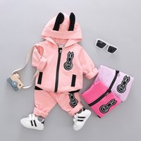 Fashion Spring Autumn Children Girls Cotton Clothing Sets Ba...