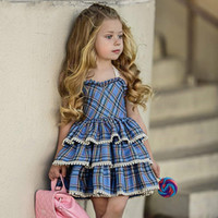 New Summer Casual Girls Dress Toddler Holiday Beach Style Sw...