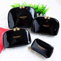 NOUVEAU! Flocon de neige 3pcs célèbre marque cosmétiques cas luxe maquillage organisateur sac beauté toilette sac de lavage embrayage sac à main fourre-tout cadeau VIP